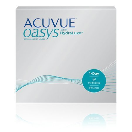 Acuvue 1-Day Oasys with HydraLuxe 90 szt. ✸ 30 zł CashBack ✸