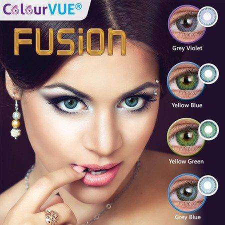 ColourVue Fusion 0,00 YELLOW GREEN ⭐ WYPRZEDAŻ ⭐