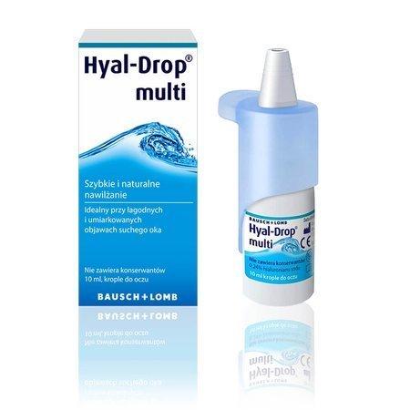 Hyal-Drop multi 10 ml - krople do oczu