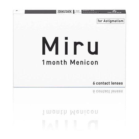 Miru 1month Menicon for Astigmatism 6 szt.